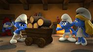 Všechny animované postavy v prvním záberu vyjímaje chytráka.